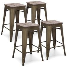 Industrial Counter Stools 24