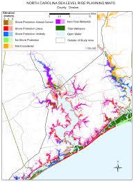 Nc Maps Sea Level Rise Planning Maps
