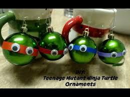 diy mutant turtle ornaments