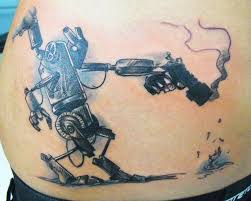 robot tattoos artificially intelligent body art tattoo pictures