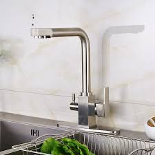 6 inch kitchen sink faucet new kitchen sink faucet tap pure water filter mixer dual handles