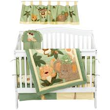 Nojo Crib Bedding Set Carol Brechzin Home Nojo Jungle Babies 6 Crib Bedding Set