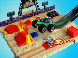 wheel monster jam trucks list wheels monster jam mighty minis showdown stadium unboxing demo