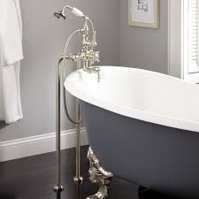 nottingham freestanding thermostatic tub faucet and supplies