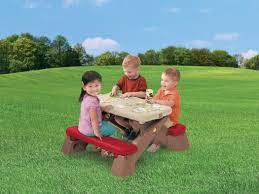 step 2 folding picnic table step 2 fun fold jr picnic table raptor