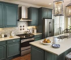 add a coastal appeal to your kitchen with the oasis cabinet finish
