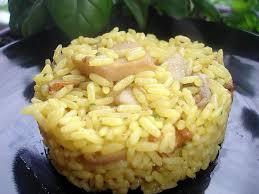 cuisiner du riz blanc recette de riz safrané aux trois chignons