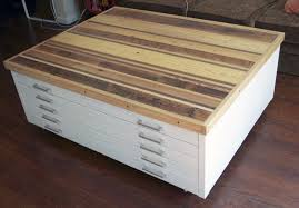Wood Flat File Cabinet This Is Exactly What I Want To Do With My Flat File Paint It