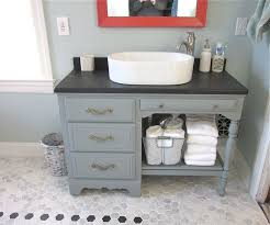 Guest Bathroom Vanity by Turning Table Into Bathroom Vanity Google Search E Bath