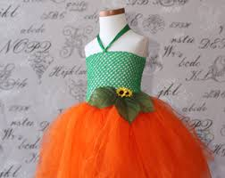 Pumpkin Princess Halloween Costume Pumpkin Tutu Dress Etsy