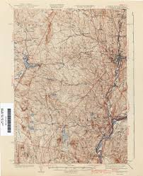 Map Of Vermont And New Hampshire Vermont Historical Topographic Maps Perry Castañeda Map
