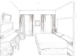 Draw Simple Floor Plans by 1 Point Of View Room In Drawing Drawings From Floor Plans To