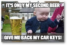 Drunk Kid Meme - drunk baby meme car keys good stuff pinterest drunk baby