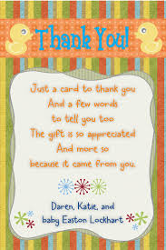8 best thankyou images on pinterest baby shower thank you baby