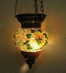 Orientalische Esszimmer Türkische Mosaik Lampe Orientalische Lampe Handgemacht Lampe