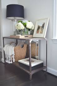 Entryway Baskets Fantastic Entryway Table With Baskets With 163 Best Foyer Images