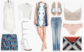tropical vacation attire evening wear unconscious style
