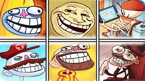 All Troll Memes - troll face internet memes all version funny troll compilation 2017