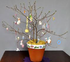 easter ornament tree easter trees to decorate your home for ultimate springtime splendor