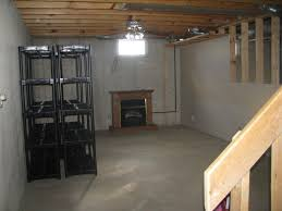 unfinished basement decorating best house design cheap