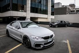 matte grey bmw 2015 435i m performance edition in battle ship grey
