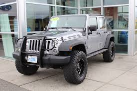 jeep liberty 2015 grey grey jeep wrangler in washington for sale used cars on
