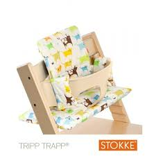 chaise volutive stokke coussin chaise tripp trapp waxup