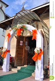 front of church wedding decorations church wedding decoration add