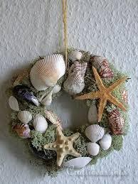 seashell wreath free summer craft project seashell wreath