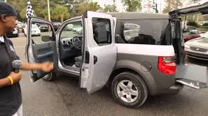 Autoline U0027s 2003 Honda Element Ex Walk Around Review Test Drive