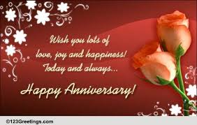 anniversary to a couple cards free anniversary to a couple wishes
