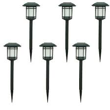 solar garden lights home depot solar landscape lighting outdoor lighting the home depot