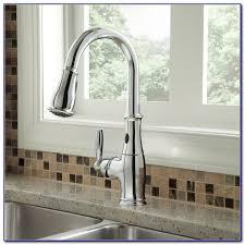 moen brantford kitchen faucet rubbed bronze moen brantford rubbed bronze pull kitchen faucet