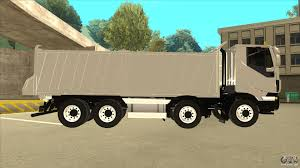 volvo sa trucks hi land dump truck iveco for gta san andreas