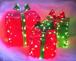 lighted christmas present boxes 36 best and green christmas lights images on green