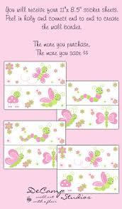 Childrens Bedroom Borders Stickers Decamp Studios