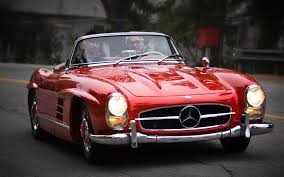 convertible mercedes red 1960 mercedes benz 300sl front three quarters in motion toys for