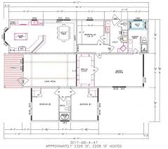 4 bedroom floor plan f 3017 hawks homes manufactured
