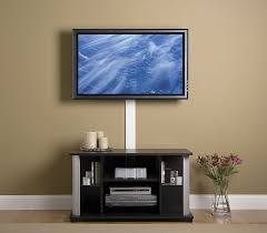 floating shelf under tv mount on wall ideas how to hide wires in