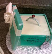 tiffany ring box cake cakecentral com