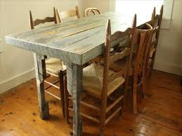 Kitchen Table Building Plans by 58 Diy Pallet Dining Tables Diy To Make
