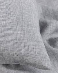 Grey Linen Bedding - natural linen bedding