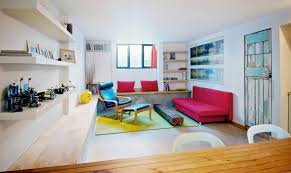 toronto ideas for basement contemporary with distressed paint