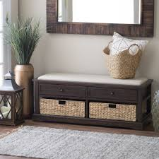 Entryway Storage Bench by Contemporary Entryway Bench Bench Contemporary Entry Bench