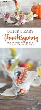 easy thanksgiving place cards the happy scraps
