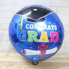 wholesale 18 inch graduation balloons for graduation ceremony with