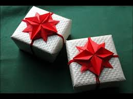 origami flower оригами цветок звезда gift wrapping and