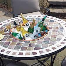 Mosaic Patio Tables Mosaic Tile And Supplies From Mosaic Basics Ceramic Mosaic Tile