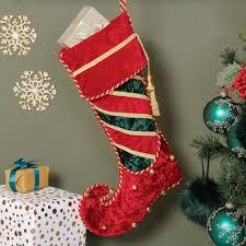 jingle bell elf christmas stocking