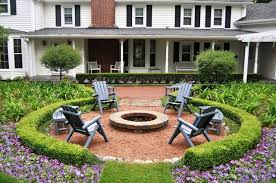 Pictures Of Patios With Fire Pits Fire Pit Traditional Patio Chicago By K U0026d Landscape Management
